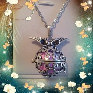 Jewelry - Owl Angel caller necklace